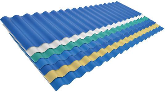 小波浪PVC瓦